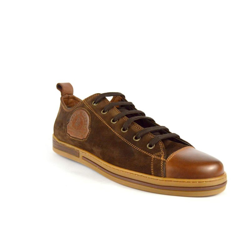 Galizio torresi Sneakers Convers Marrone + cuoio Fondo gomma