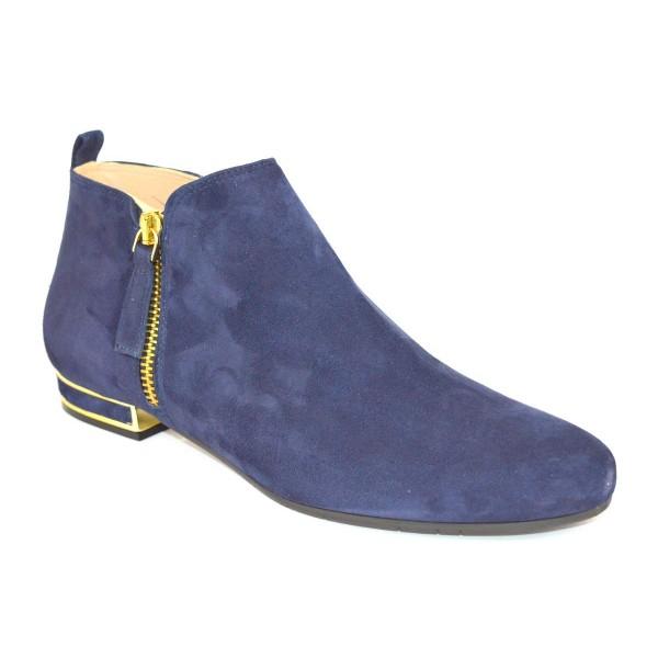Altariva Pantofola Zip Blu Fondo gomma