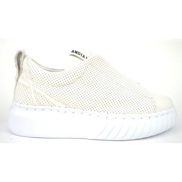 Andia fora Sneakers Bianco Fondo gomma