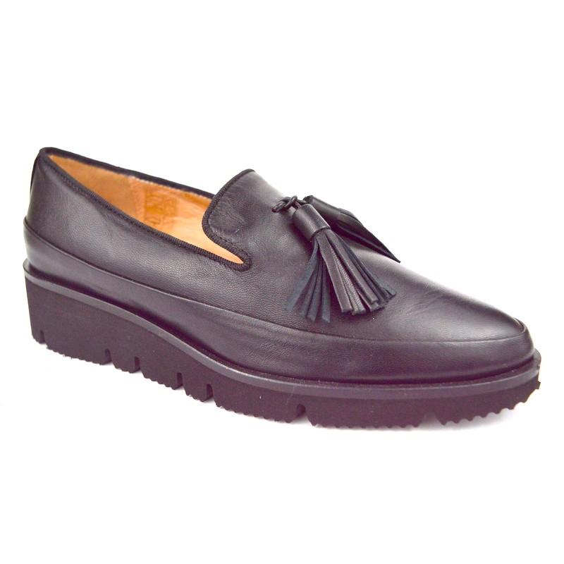 Altariva Pantofola Nappine Nero Gomma