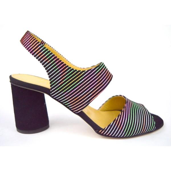 Brunate Sandali Multicolore Fondo cuoio