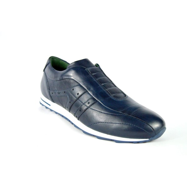 Galizio torresi Sneakers Pantofola Blu Fondo gomma