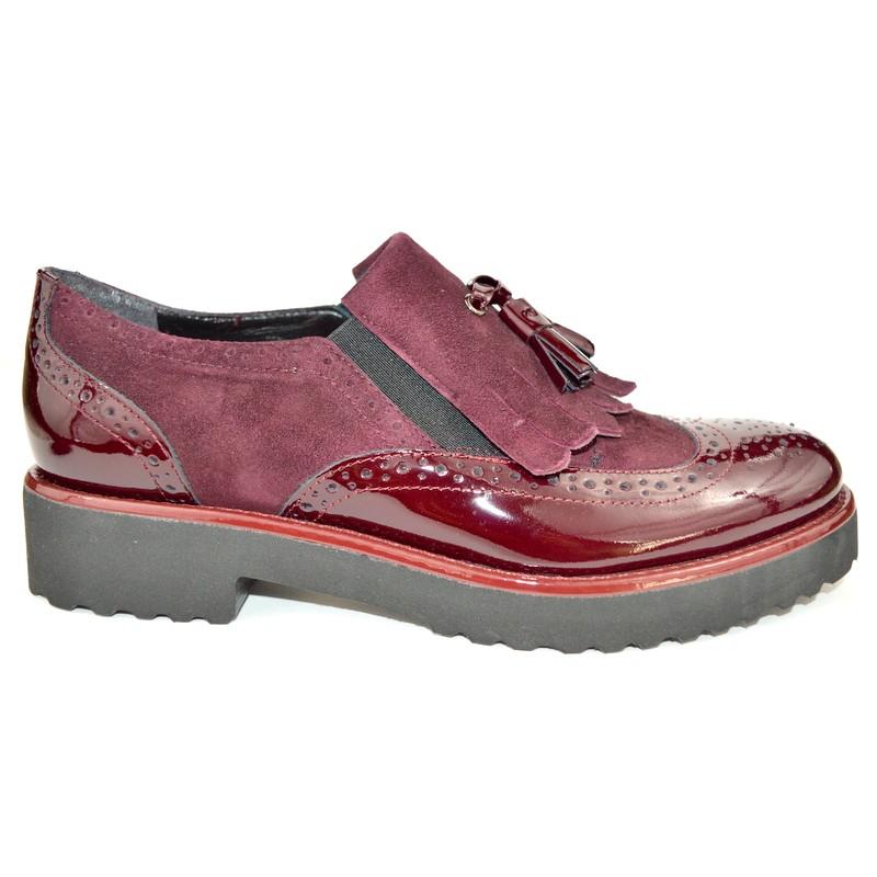 Altariva Pantofola Wilson Bordo` Fondo gomma