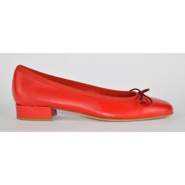 Altariva Ballerina Rosso Fondo cuoio