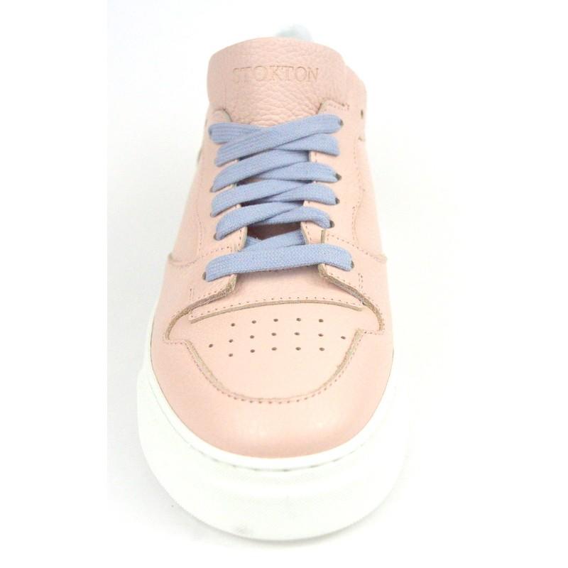 Stokton Sneakers Rosa Fondo gomma