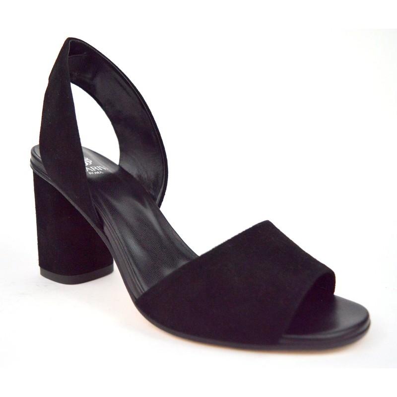 Altariva Sandalo 1 fascia Nero C1