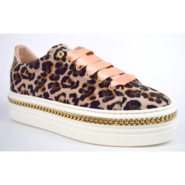 Stokton Sneakers Maculato Fondo gomma