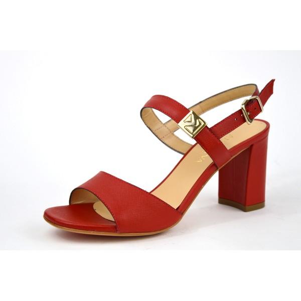 Altariva Scarpa 2 fasce   Rosso Suoletta gomma
