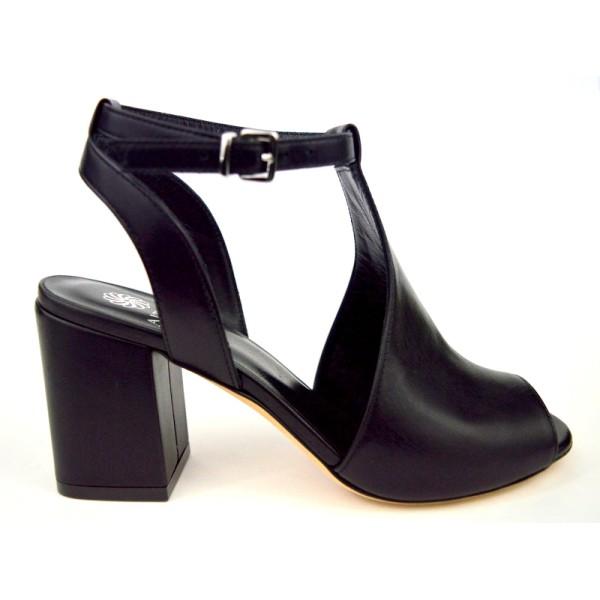 Altariva Sandalo Posteriore Tallone Nera C1