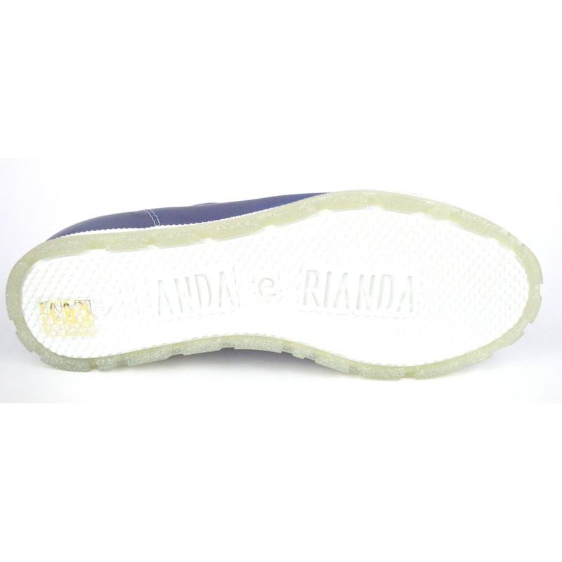 Dover Sneakers Blu Fondo gomma