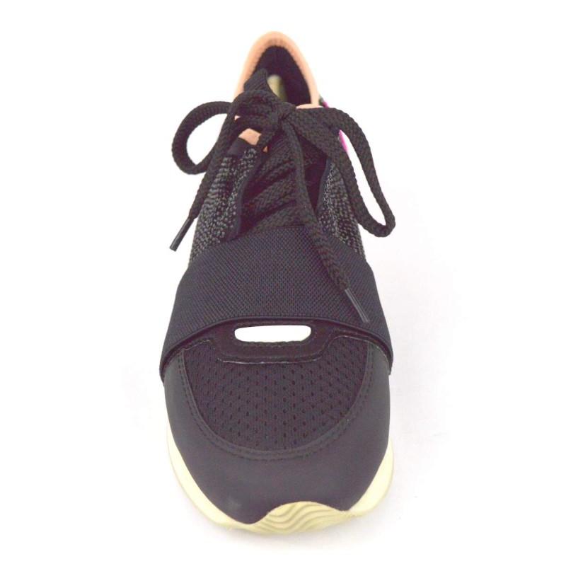 Lola cruz Sneakers Nero Fondo gomma