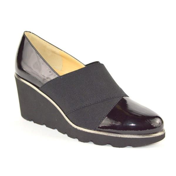 Brunate Pantofola Elastici Nero Fondo gomma