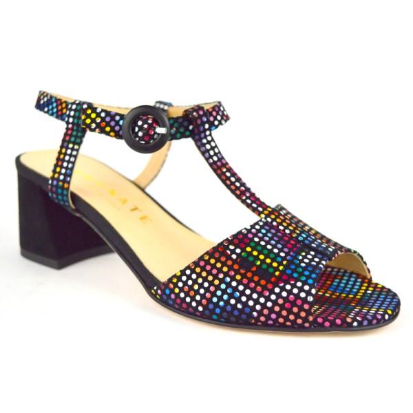 Brunate Sandali Cinturino a t Multicolore Multicolore Fondo cuoio