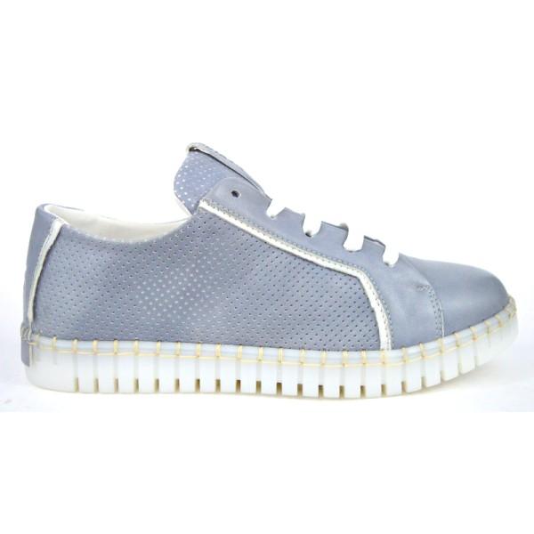 Andia fora Sneakers Grigio Fondo gomma