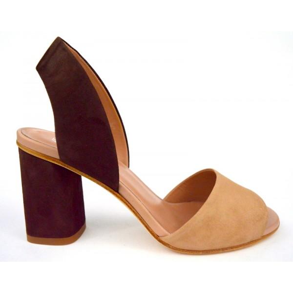 Altariva Sandalo 1 fascia Marr+cipria C1
