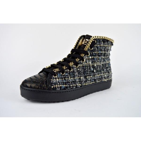Stokton Sneakers Alta Catena Nero G
