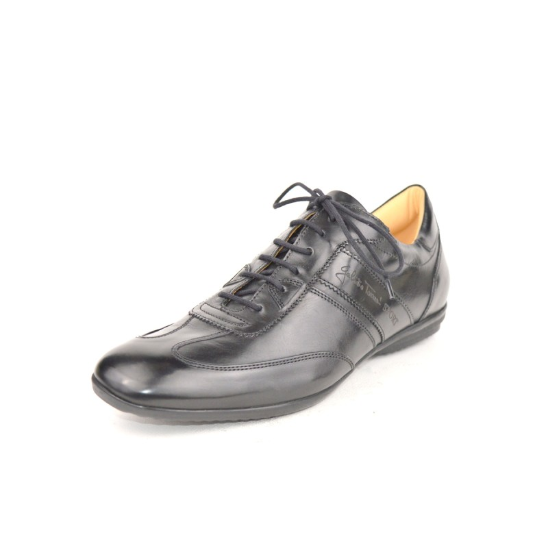 Galizio torresi Sneakers Wilson Cuciture Nero Fondo cuoio