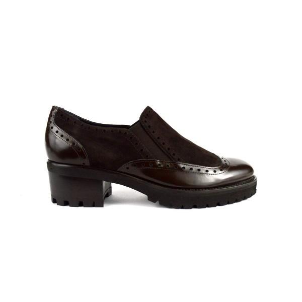 Altariva Pantofola Wilson Testa di moro Fondo gomma