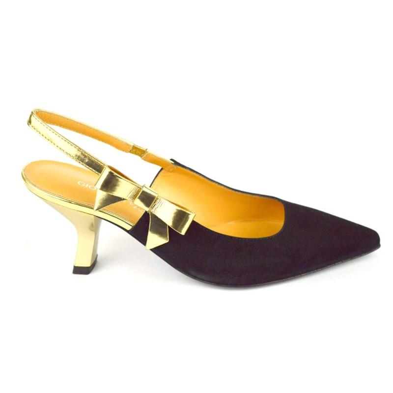 Giovanni fabiani Chanel Nero + oro Fondo cuoio