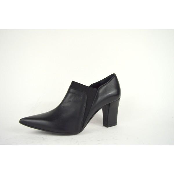 Altariva Pantofola   Nero Fondo cuoio e gomma