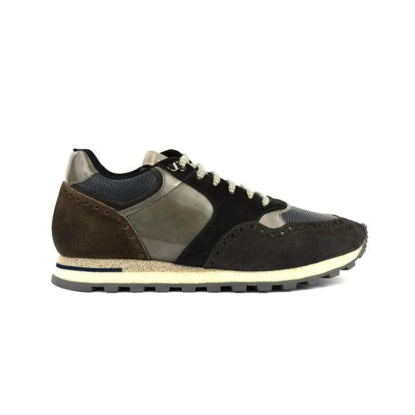 Brimarts Sneakers Grigio Fondo gomma