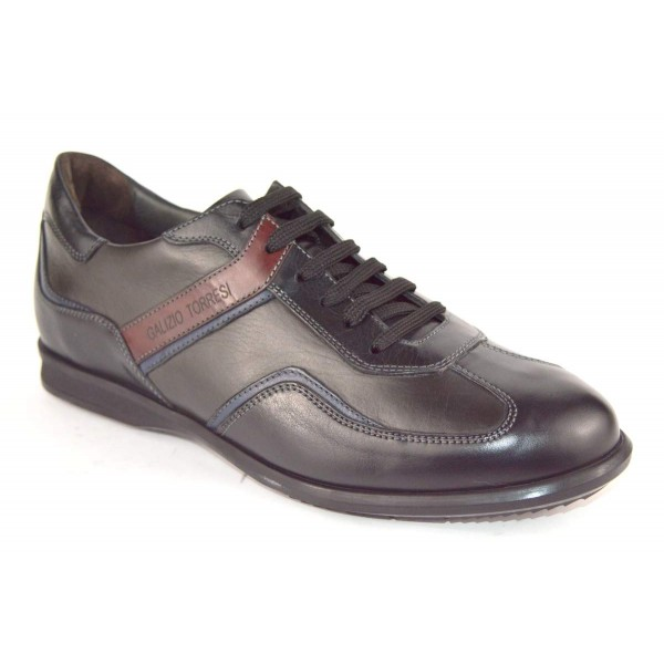 Galizio torresi Sneakers Nero + grigio Fondo gomma