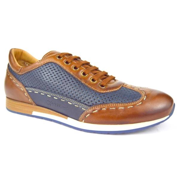 Galizio torresi Sneakers Moca Marr + blu