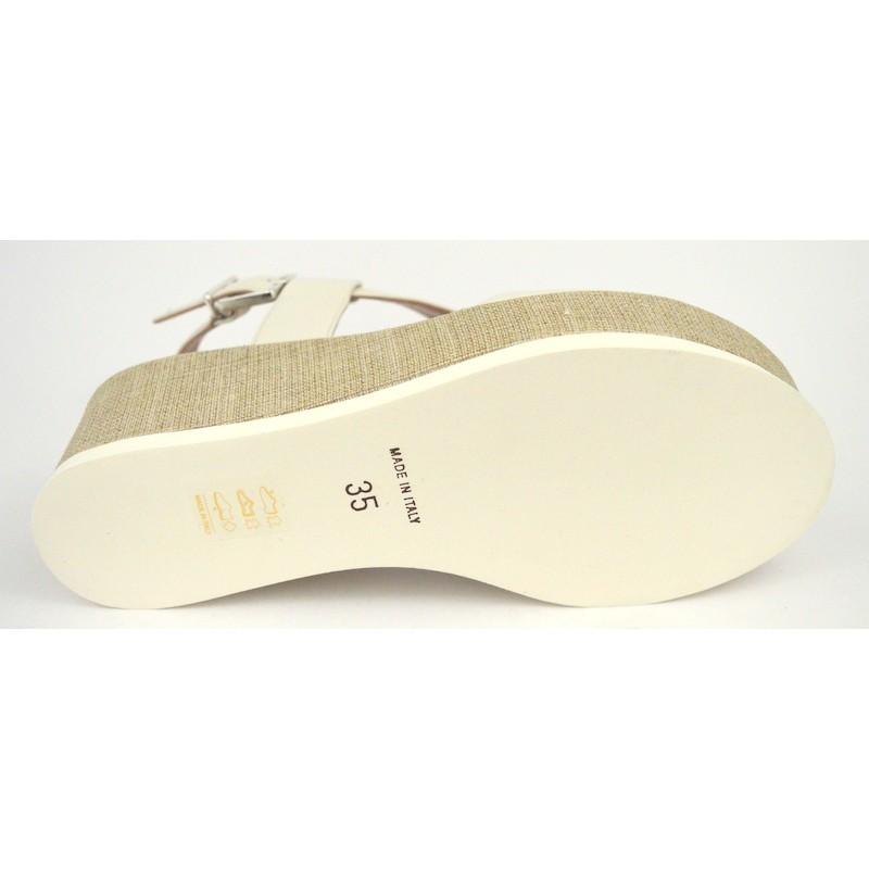 Altariva Sandalo Trasvers Cinturino Bianco C1