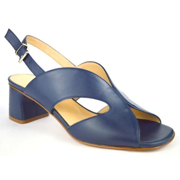 Altariva Sandali Blu Fondo cuoio