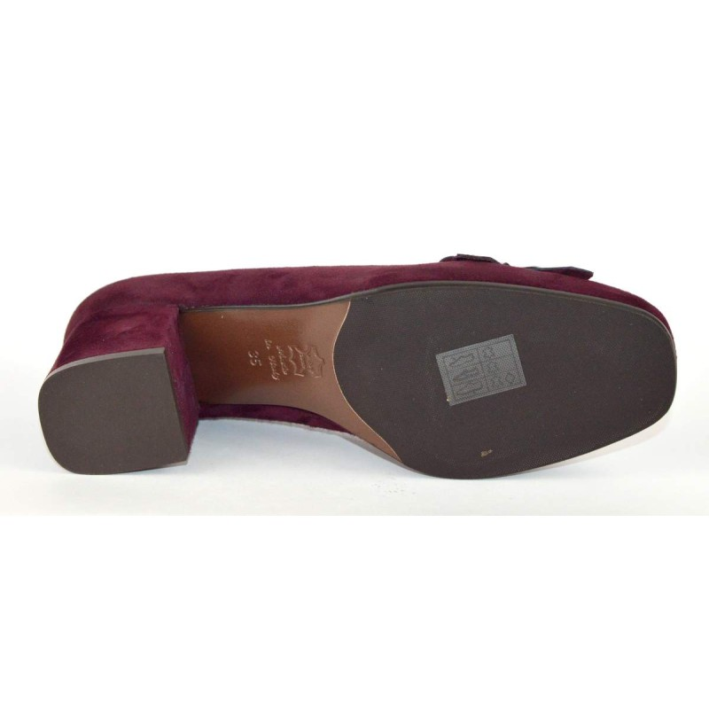 Altariva Pantofola Frangia Morsetto Bordo` Fondo cuoio e gomma
