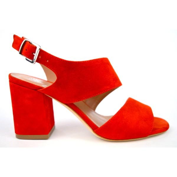Altariva Sandalo 2 fasce Rosso C1