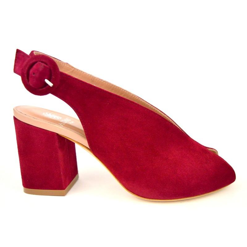 Altariva Sandalo Accollato Rosso C1
