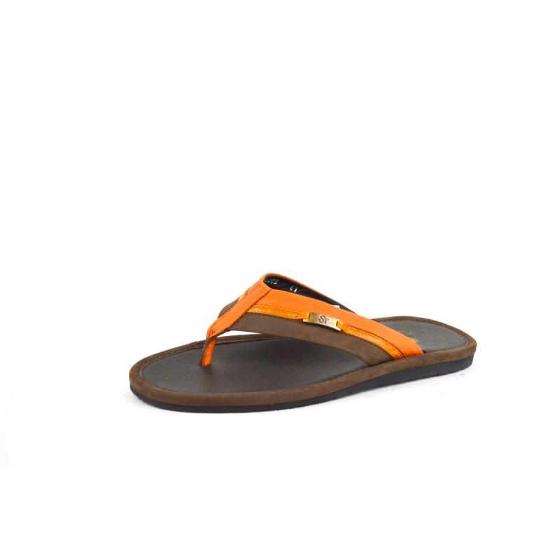 Altariva Scarpa Infradito Marrone+arancio G
