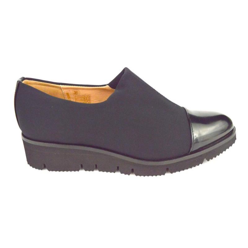 Altariva Pantofola Elastico Nero Fondo gomma