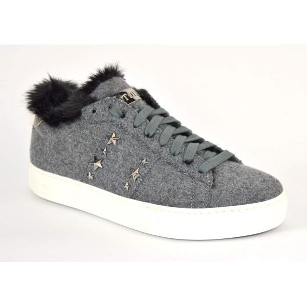 Stokton Sneakers Lana Grigio Fondo gomma
