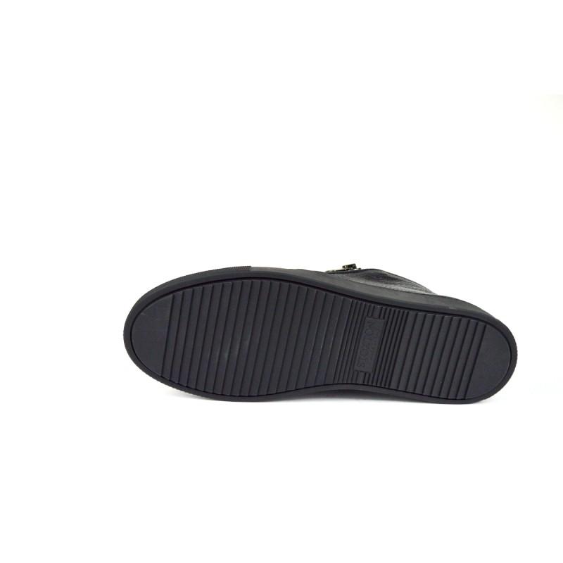 Stokton Sneakers Pantofola   Nero Fondo gomma