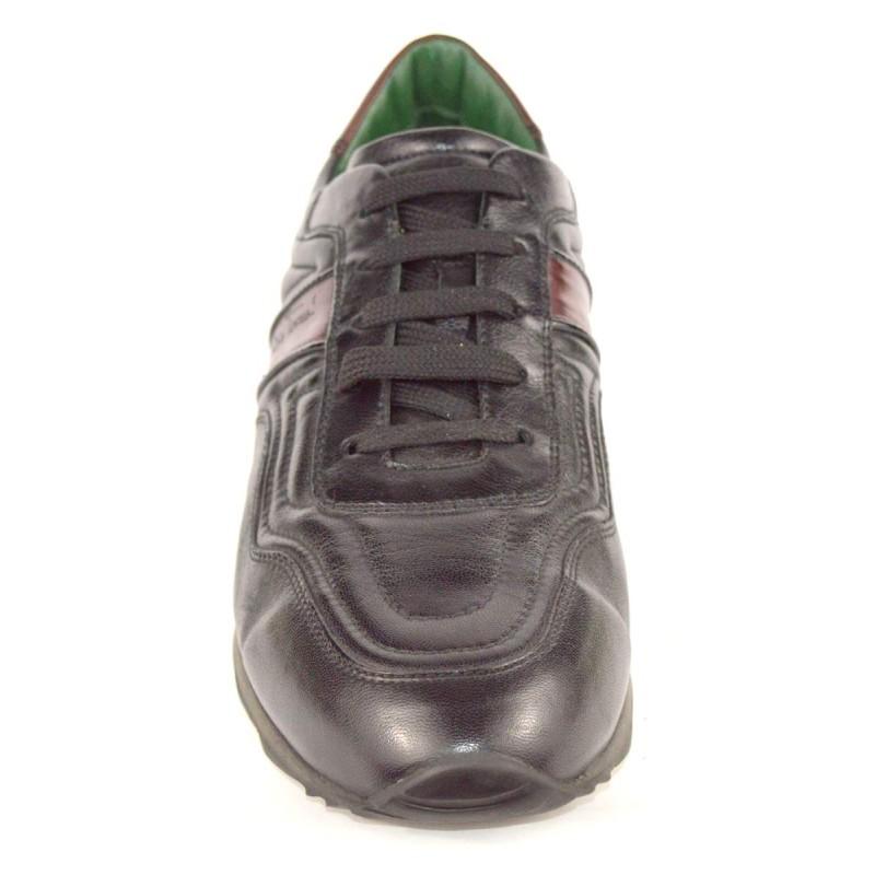 Galizio torresi Sneakers Nero + bordo' Fondo gomma