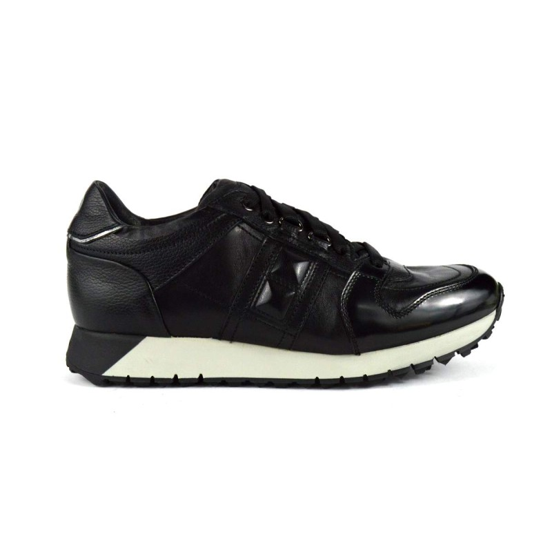 Fabi Sneakers Nero Fondo gomma