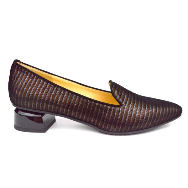 Brunate Pantofola Stampato Nero + multicolore Fondo gomma