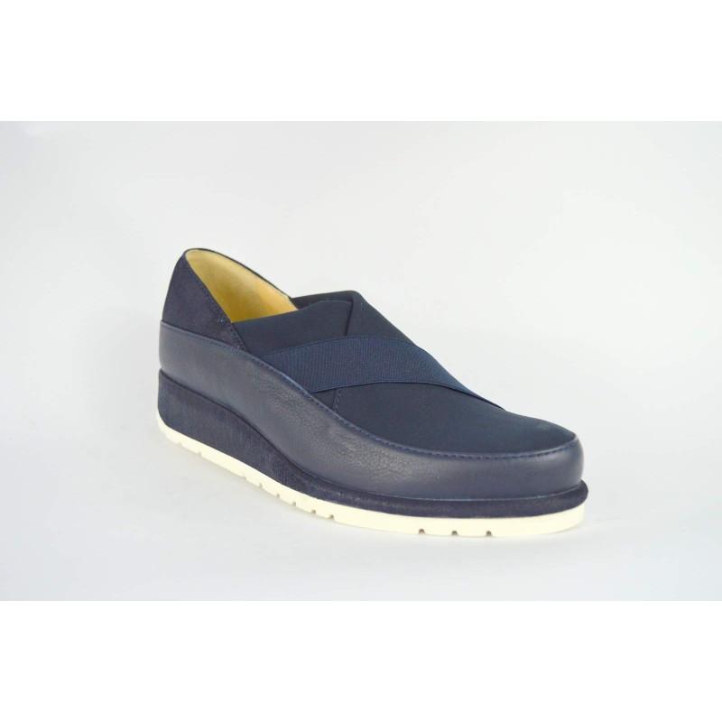 Brunate Sneakers Pantofola Blu Fondo gomma