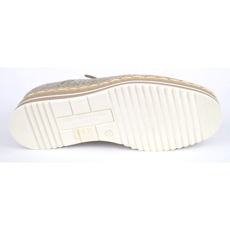 Pons quintana Sneakers Intrecciato Tortora G
