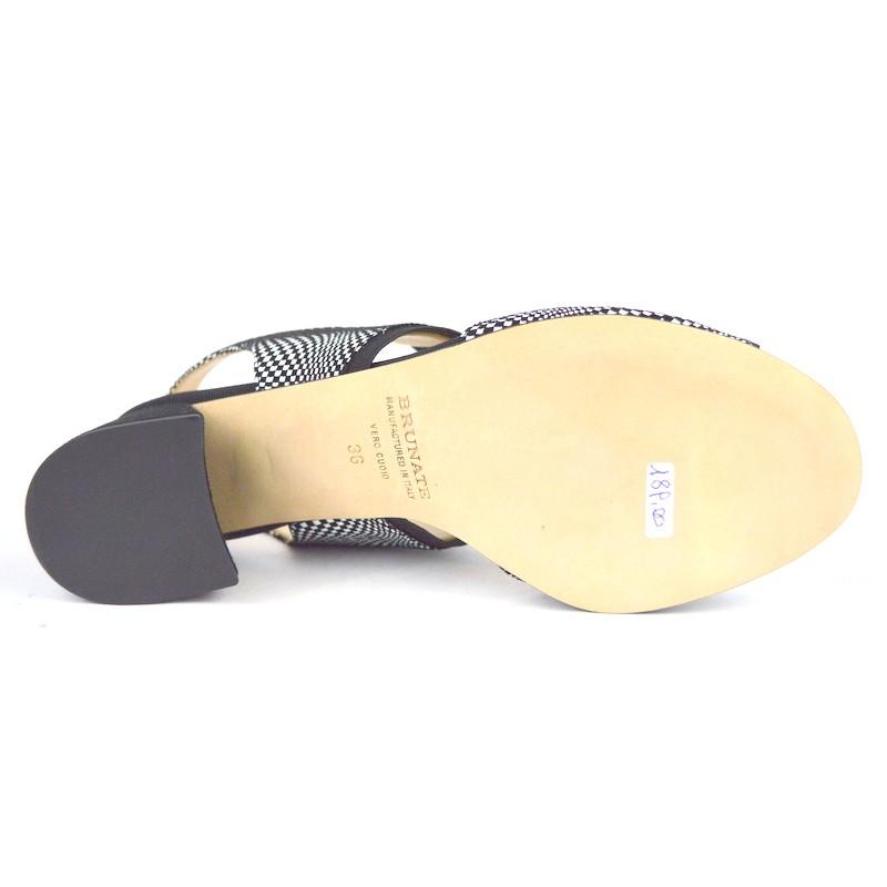 Brunate Sandali Elastico Multicolore Fondo cuoio