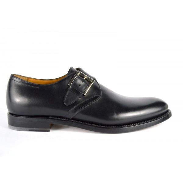 Franceschetti Pantofola Fibbia Nero