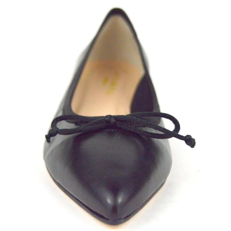 Altariva Ballerina Nero Fondo cuoio