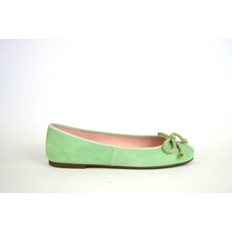 Prettyballerinas Ballerina Fiocco Verde chiaro