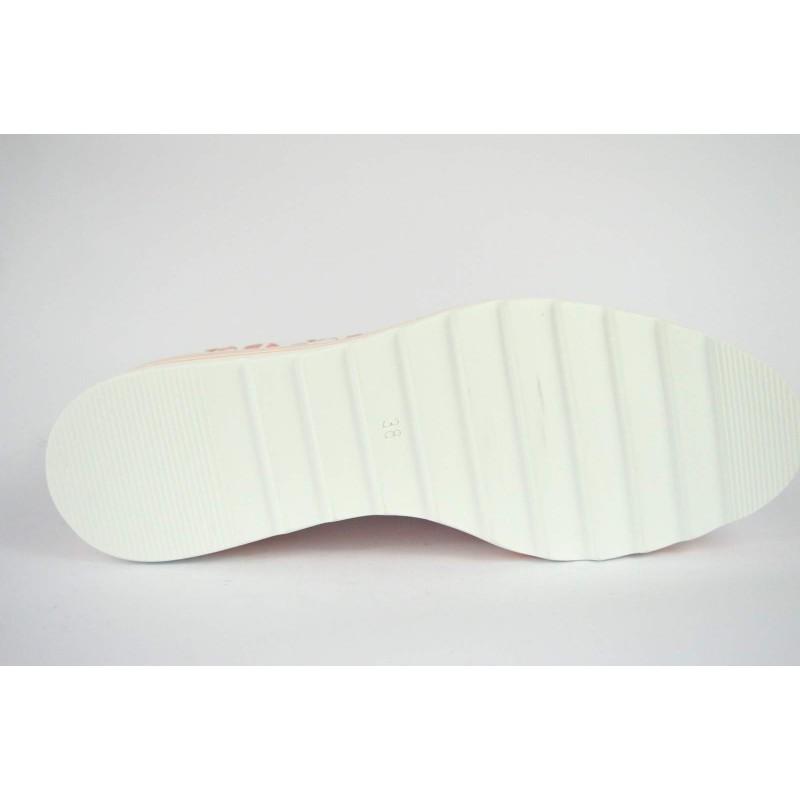 Altariva Pantofola Intrecciata Beige + bianco Fondo gomma