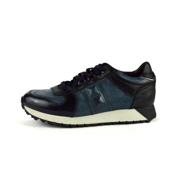 Fabi Sneakers Blu Fondo gomma