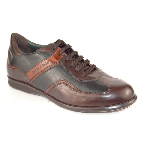 Galizio torresi Sneakers Verde + marrone Fondo gomma