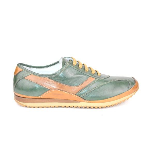 Galizio torresi Sneakers   Verde Fondo gomma