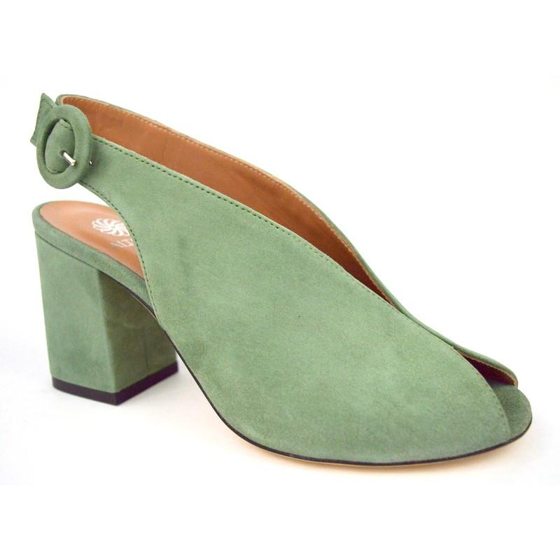 Altariva Sandalo Accollato Verde C1